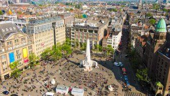 Amsterdam: Dam Meydanı Canli İzle