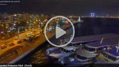 İzmir Karşıyaka Anayasa Meydanı Canli İzle